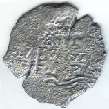 Piece of Eight from the Spanish Tresure Ship Santa Maria de la Consolocion