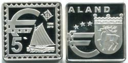 Aland 5 Euros 2019 pièce