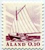 Le timbre-poste d'Aland représente un bateau postal