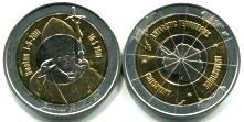 Antarctic Territories 10 Dollar coin commemorates the beatification of Pope John Paul II