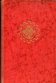 Nazi Germany Arbeitsfront (Labor union membership and dues book)