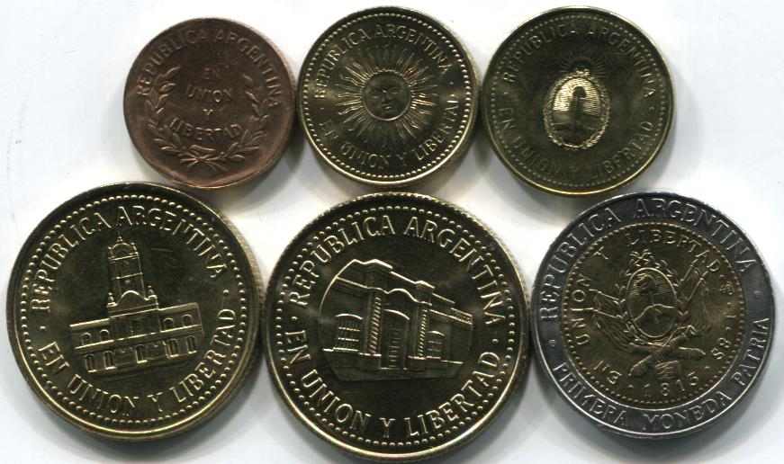 Central and South American Coins and Currency