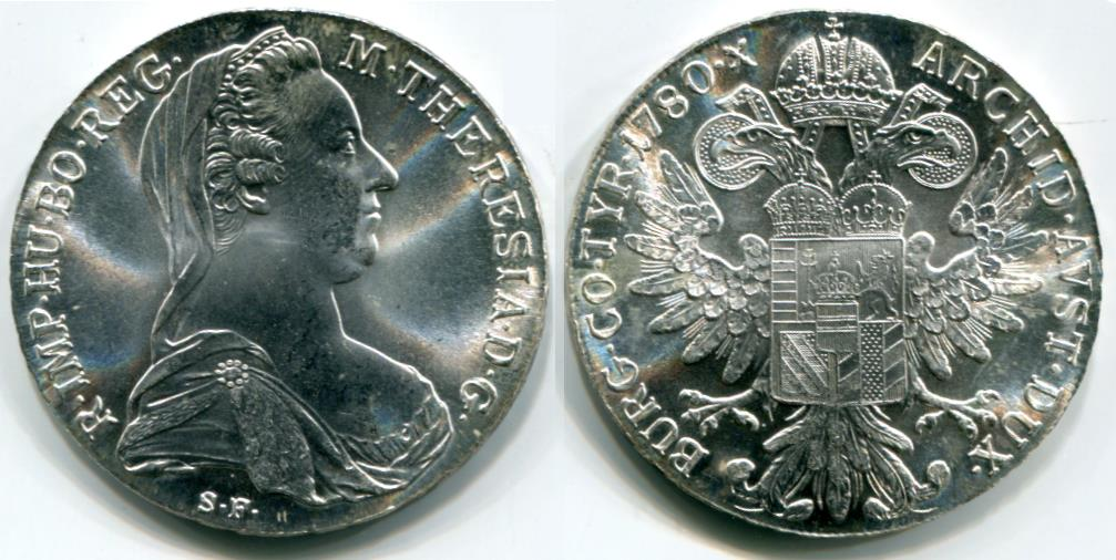 Silver Coins Of The World