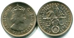 British East Caribbean Territories 50 Cents 1955 KM7