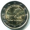 BELGIUM 2 EUROS 2014 100th ANNV. OF WORLD WAR I