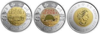 Canada 2 Dollars 2019 D-Day