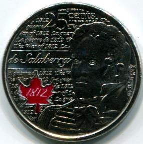 Canadian 1 2 and 5 Dollar  Calgary Coin