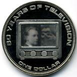 Cook Island Television Coin
