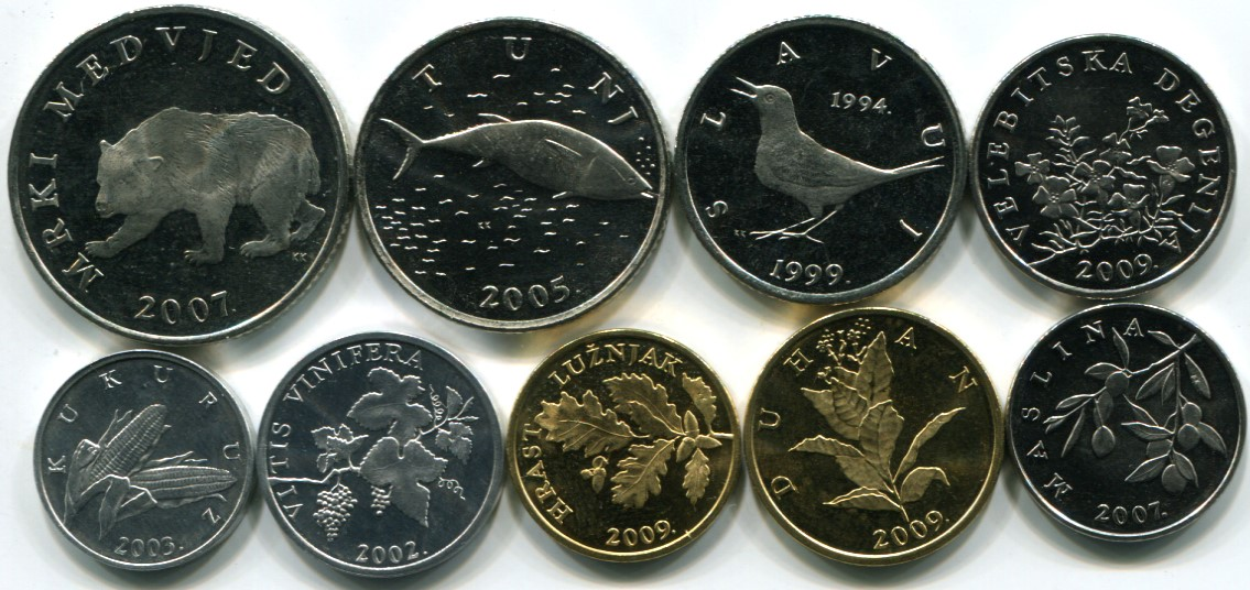 World Coin Sets List