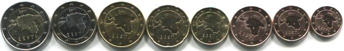 Estonia Euro coin set