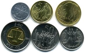 African Coins And Currency