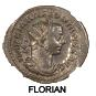 ROME, EMPEROR FLORIAN, JULY-SEPTEMBER 276AD, AURELIANIUS