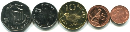 Gambia coin set