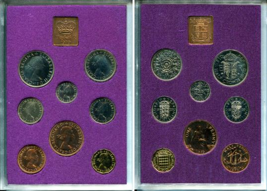 Great Britain 1970 Proof Set