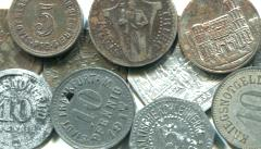 Germany World War I era notgeld coins