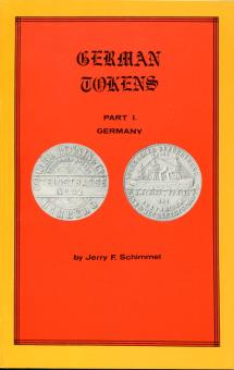 Book: German Tokens, Part 1 - Germany, by Jerry F. Schimmel