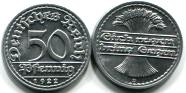 Germany - Weimar Republic aluminum 50 Pfennig