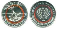 Germany 5 Euros 2018 polymer ring, Subtropic Zone