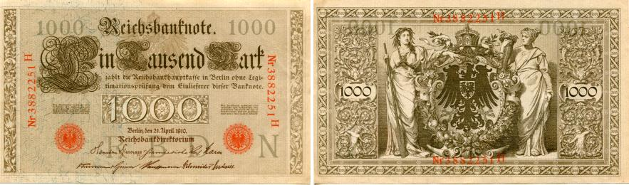 Germany 1000 Mark P44 Red Seal