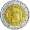 GREECE 2 EUROS 202 2500th ANNIVERSARY OF THE BATTLE OF THERMOPYLAE