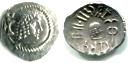 Himyarite Kings of Arabia silver 1/2 Denarius, circa 100-200AD