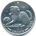 Isle of Man 2000 Cat coin
