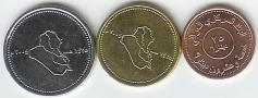 Iraq 2004 3 coin set