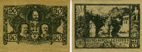Bad Kruznach 50 Pfennig note 1917-1918