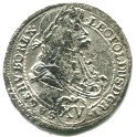 Leopold the Hogmouth silver 15 Kreuzer (1660-1696)