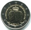 Luxembourg 2 Euros 2014 50th anniversary of Grand Duke Jean