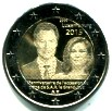 Luxembourg 2 Euros 2015 15th Anniversary of Reign of Grand Duke Henri