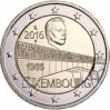Luxembourg 2 Euros 2015 125th anniversary of Nassau-Weilburg Dynsaty rule of Luxembour