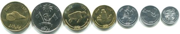 Maldives Coin Set
