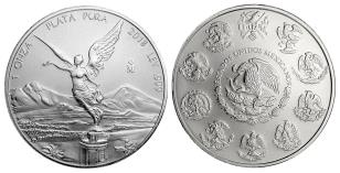 Mexico 2018 1 troy ounce .999 fine silver Libertad