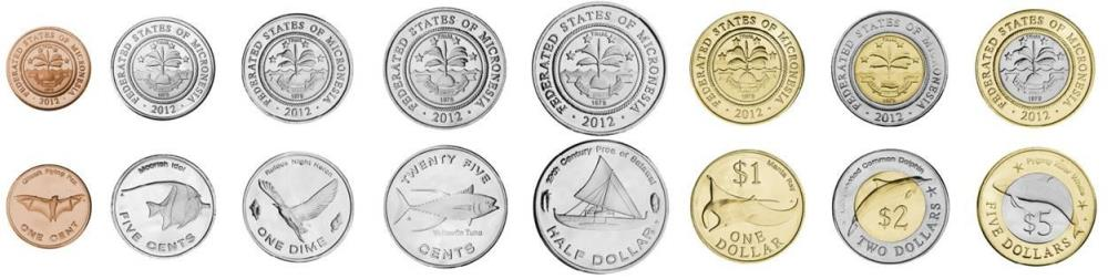 Micronesia coin set