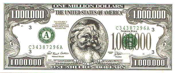 Back > Gallery ... $1000000 Bill