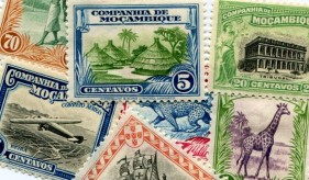 Mozambique Company postage stamps