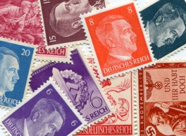 Nazi German stamps picture Hitler and others