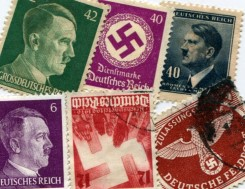 Nazi Germany postage stamps