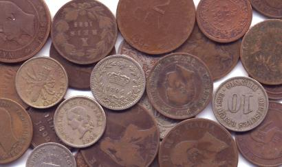 19th Century world coins