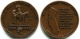 San Jose California Portola Expedition bicentennial medal