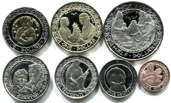 Coin Set of the Iipay Nation of Santa Ysabel Indians