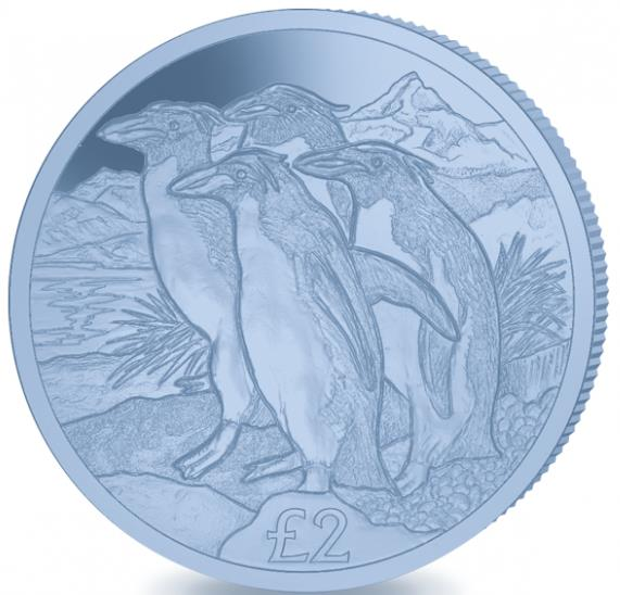Australia & Oceania Coins & Paper Money Provided Emperor Penguin 2019 Blue Titanium Coin At Any Cost