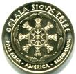 common reverse of Ogala Sioux 2014 coins features tribal emblem