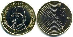 Slovenia 3 Euro 2009 First Airplane Flight -  Edvard Rusjan