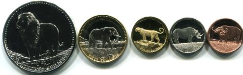 Somalia 2013 African Wildlife coin set
