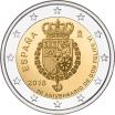 Spain 2 Euros 2018 King Felipe VI 50th birthday