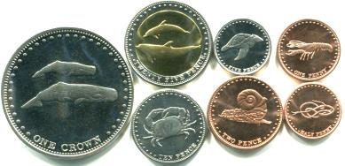 Coins of Island Nations