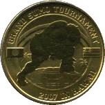Tuvalu 50 Cents 2007 Sumo Tournament in Hawaii