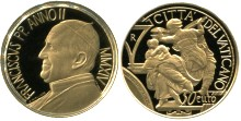 Vatican gold 50 Euro 2014 450th anniversary of birth of Michelangelo